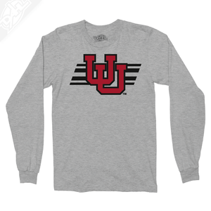 Interlocking UU w/Utah Stripe - Long Sleeve
