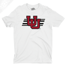 Load image into Gallery viewer, Interlocking UU w/Utah Stripe - Boys T-Shirt