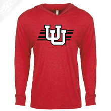 Load image into Gallery viewer, Interlocking UU w/Utah Stripe - T-Shirt Hoodie