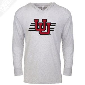 Interlocking UU w/Utah Stripe - T-Shirt Hoodie