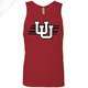 Interlocking UU w/Utah Stripe- Mens Tank Top