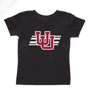 Interlocking UU w/Utah Stripe- Infant/Toddler Shirt