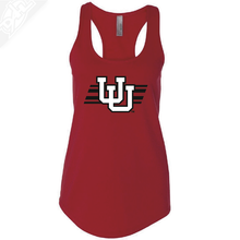 Interlocking UU w/Utah Stripe- Womens Tank Top