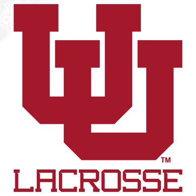 Interlocking UU - Lacrosse Vinyl Decal