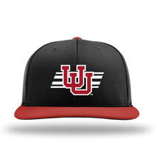 Load image into Gallery viewer, Black W/Red Brim Performance Series Hat