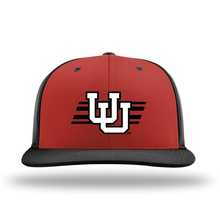 Load image into Gallery viewer, Red/Black Performance Series Hat