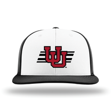 Load image into Gallery viewer, White/Black Performance Series Hat