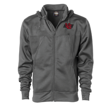 Load image into Gallery viewer, Poly-Tech Zip Hooded Sweatshirt