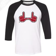 Load image into Gallery viewer, U Hands - 3/4 Sleeve Baseball Shirt