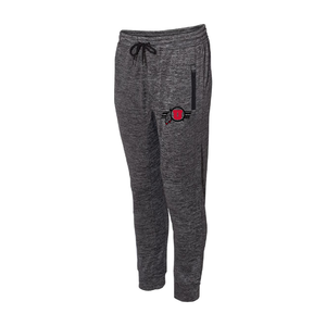 Heather Charcoal Performance Men's Jogger Pants