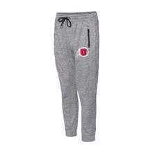 Load image into Gallery viewer, Heather Gray Performance Men's Jogger Pants