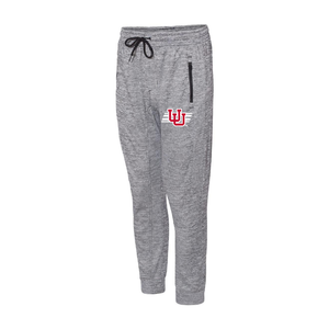 Heather Gray Performance Men's Jogger Pants