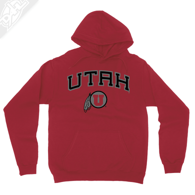 Utah Arch Circle and Feather - Hoodie