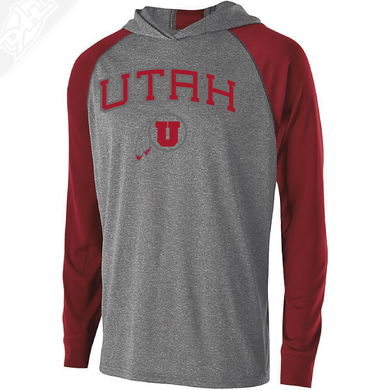 Utah Arch Circle and Feather- Echo Hoodie