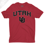 Utah Arch Interlocking UU - Boys T-Shirt