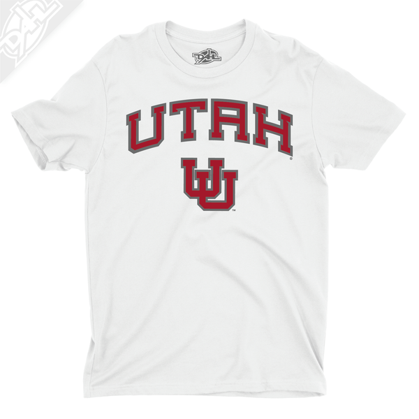 Utah Arch Interlocking UU - Mens T-Shirt
