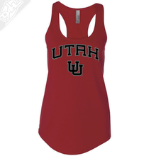 Load image into Gallery viewer, Utah Arch Interlocking UU - Womens Tank Top