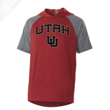 Utah Arch Interlocking UU - Echo Short Sleeve Hoodie