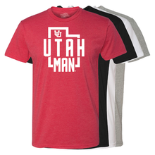 Load image into Gallery viewer, Utah Man - State - Mens T-Shirt