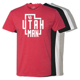 Utah Man - State - Mens T-Shirt