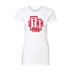 Utah Man - State - Womens T-Shirt