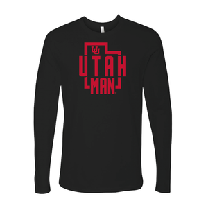 Utah Man - State - Long Sleeve