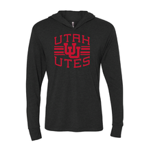 Load image into Gallery viewer, Utah Utes Arch - Interlocking UU -  T-Shirt Hoodie