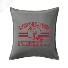 Load image into Gallery viewer, Utah Utes Football - Pillow