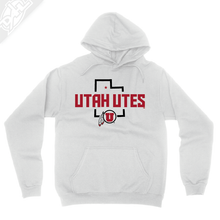 Load image into Gallery viewer, Utah Utes State w/Circle and Feather - Hoodie
