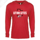 Utah Utes State w/Circle and Feather - T-Shirt Hoodie