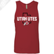 Utah Utes State w/Circle and Feather - Mens Tank Top