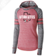 Utah Utes State w/Circle and Feather - Womens Red Advocate Hoodie