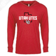 Utah Utes State w/Interlocking UU - T-Shirt Hoodie