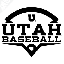 Load image into Gallery viewer, Utah Baseball Vinyl Decal