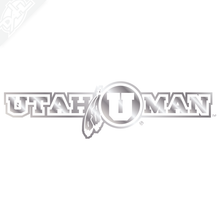 Load image into Gallery viewer, Utah Man Vinyl Decal