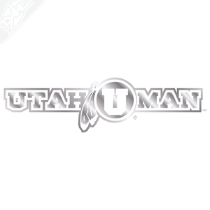 Utah Man Vinyl Decal