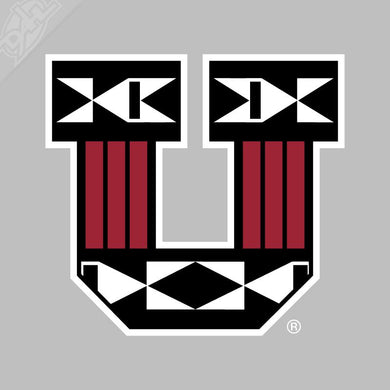 Ute Proud Block U Vinyl Decal