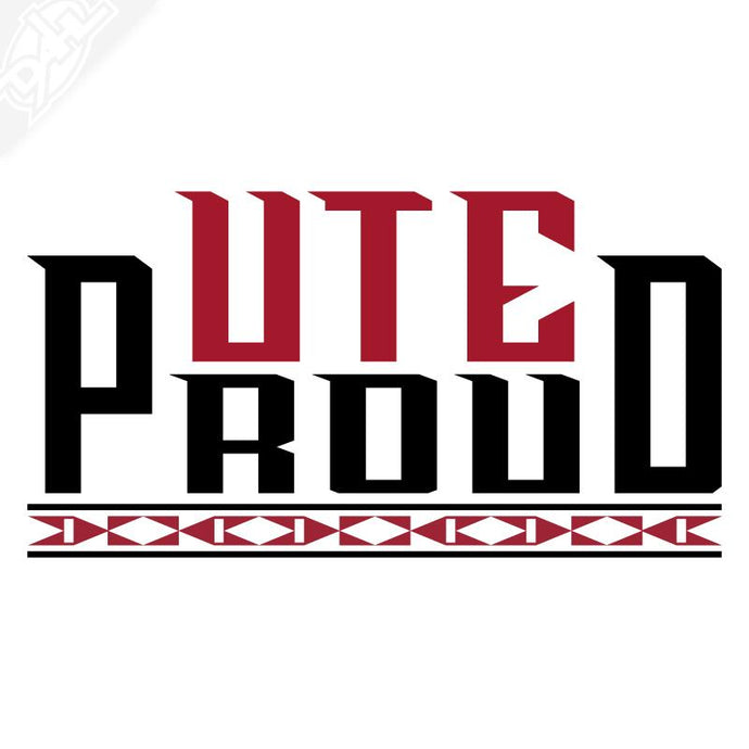 Ute Proud Vinyl Decal