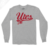 Utes Script - Long Sleeve