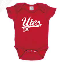 Load image into Gallery viewer, Utes Script - Onesie