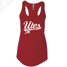 Load image into Gallery viewer, Utes Script- Womens Tank Top