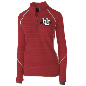 Womens Red Deviate Pullover