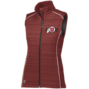 Womens Red Deviate Vest