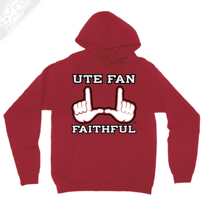 Ute Fan Faithful  - Hoodie