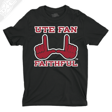 Load image into Gallery viewer, Ute Fan Faithful  - Mens T-Shirt