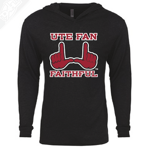 Ute Fan Faithful  - T-Shirt Hoodie