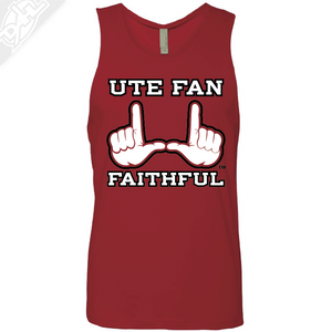 Ute Fan Faithful  - Mens Tank Top