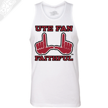 Load image into Gallery viewer, Ute Fan Faithful  - Mens Tank Top