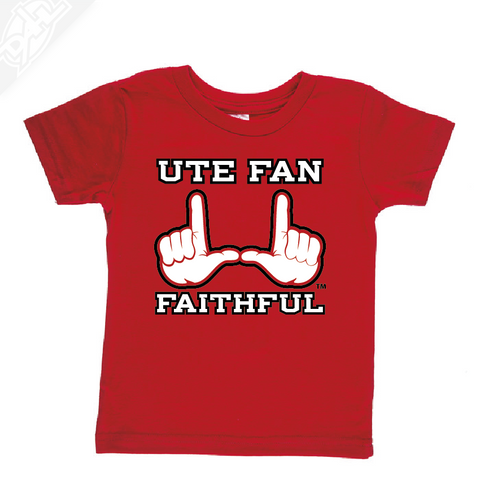 Ute Fan Faithful  - Infant/Toddler Shirt