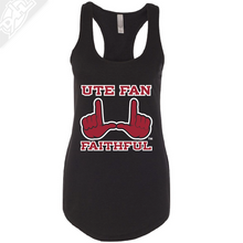 Load image into Gallery viewer, Ute Fan Faithful  - Womens Tank Top